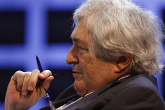 Former World Bank President James Wolfensohn, pictured in 2006, died on Tuesday. He was 86.