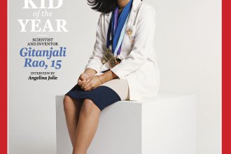 Gitanjali Rao, 15, is <em>Time</em> magazine's Kid of the Year for 2020. Rao has continued to work on solving problems through science, after gaining fame for creating a device to test lead levels in water.