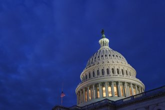 The Senate parliamentarian informed lawmakers that a plan to gradually increase the federal minimum wage to $15 by 2025 does not fit the complicated rules that govern budget bills in the Senate.