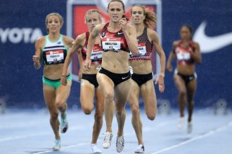 """""""I feel completely devastated, lost, broken, angry, confused and betrayed,"""" says middle distance runner Shelby Houlihan, announcing her four-year ban from international competition."""