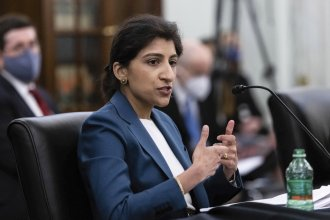 The Senate on Tuesday confirmed to the Federal Trade Commission 32-year-old Lina Khan, a prominent critic of Big Tech and favorite among progressives.