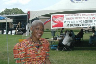 Sadie Roberts-Joseph founded the Baton Rouge African American History Museum in 2001. She was a prominent civil rights activist and community leader.