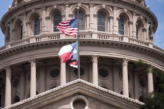 Texas state Capitol building in Austin. This week, state officials confirmed that 23 municipalities have been infiltrated and ransom demanded.