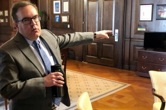 EPA Administrator Andrew Wheeler says the repeal of Obama-era water rules will end an overreach by the federal government.