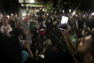 Protesters chanted slogans against the regime last month in Cairo, Egypt, at a rare protest.