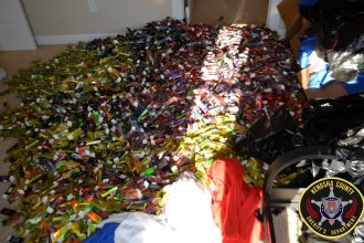 Kenosha County, Wis., law enforcement officials discovered 31,000 THC-filled cartridges in a Bristol condo.