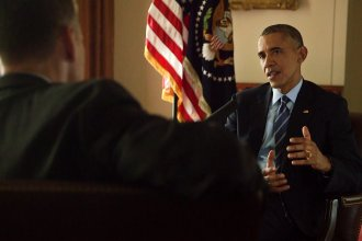 NPR's Steve Inskeep interviews President Obama at the White House. The interview will air this week on <em>Morning Edition</em>.