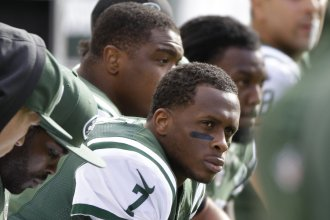 New York Jets quarterback Geno Smith will have surgery after a teammate broke his jaw in a locker room altercation Tuesday.