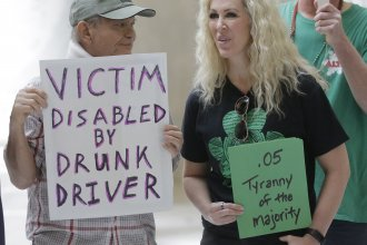 Gov. Gary Herbert resisted recent calls to veto a bill giving Utah the strictest DUI threshold in the country, lowering the blood alcohol limit to .05 percent, down from .08 percent. Last week, demonstrators on both sides of the issue visited the Utah State Capitol.