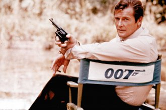 """Roger Moore described his most famous role as """"a lover and a giggler."""""""