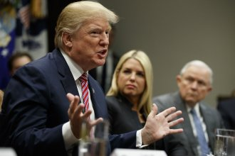 President Trump meeting with state and local officials on school violence Thursday, including Florida Attorney General Pam Bondi.