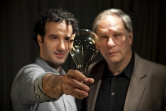 Jad Abumrad and Robert Krulwich host Radiolab, heard Saturdays at noon on KPR2.