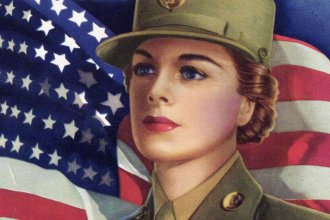 Recruitment poster for the Women's Army Auxiliary Corps (WAAC)