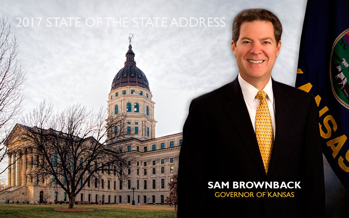 Tune in to KPR at 5 p.m., Tuesday, Jan. 10, for live coverage of the 2017 Kansas State of the State address.