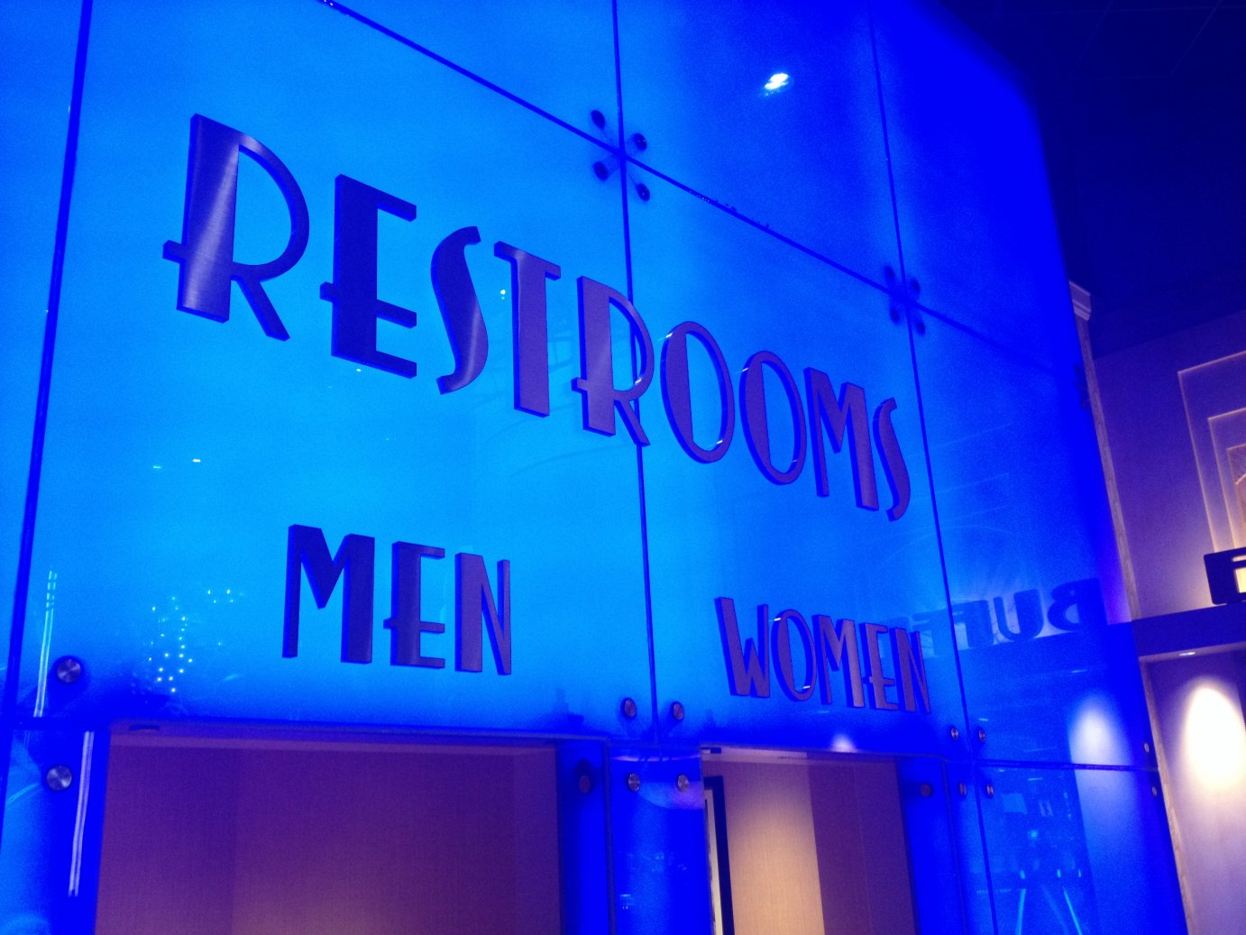 Men, Women, Trans, Neutral? The battle over bathrooms continues in Kansas. (Photo by J. Schafer)