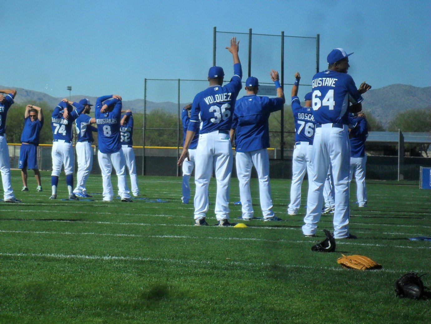 The KC Royals baseball team has gathered in Surprise, Arizona for Spring Training. (Photo by Greg Echlin)