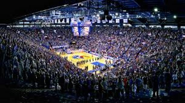 The Kansas Jayhawks thrilled the crowd at Allen Fieldhouse with an 80-70 victory over the Texas Longhorns. (Photo Credit:kuathletics.com)
