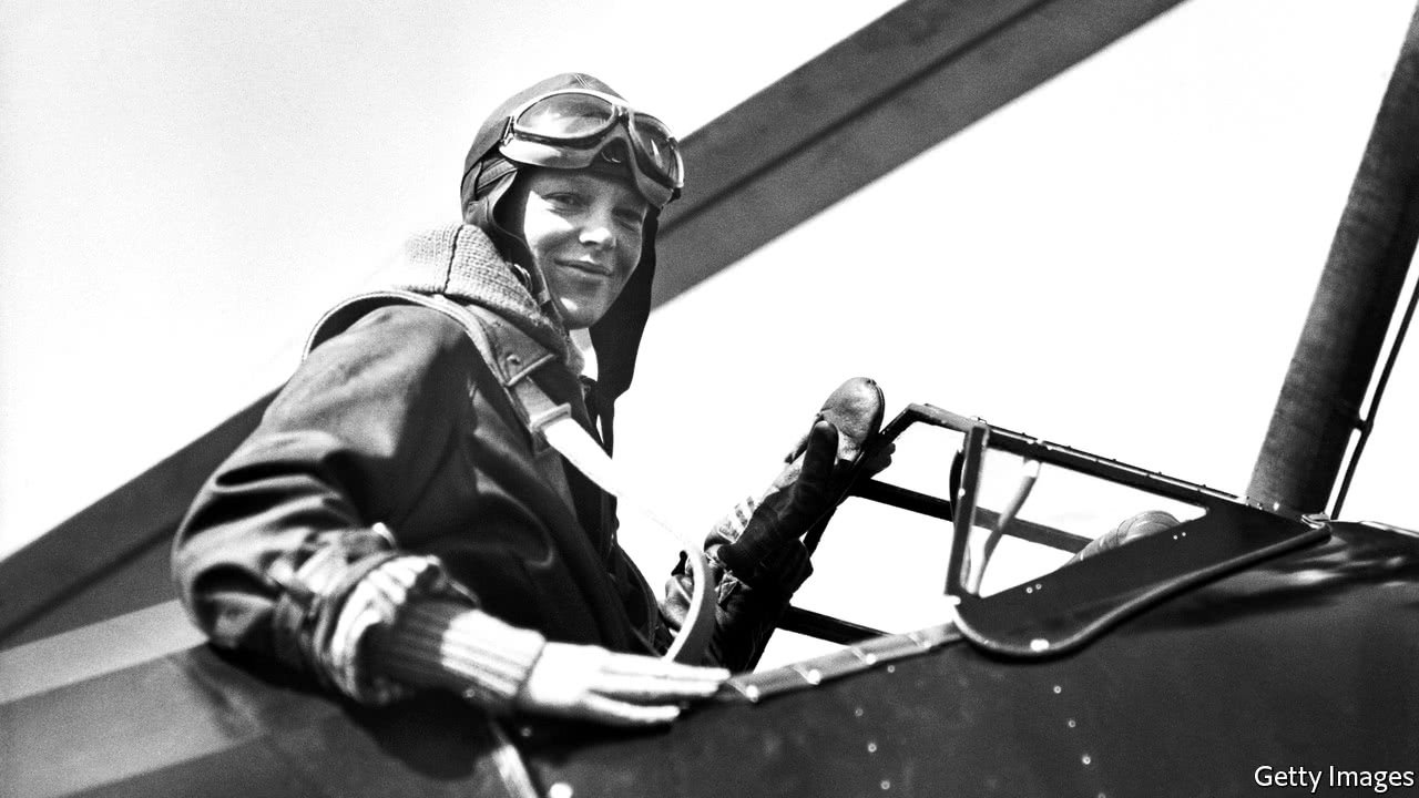 Amelia Earhart, who grew up in Atchison, set numerous aviation records before disappearing into the wild blue yonder.