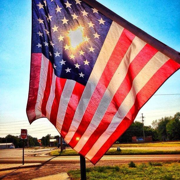 Old Glory, also known as Stars and Stripes or simply just the American flag. (Photo by J. Schafer)