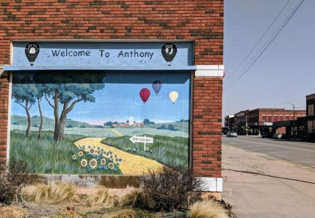 Anthony, Kansas, has been at the heart of Kansas earthquakes after the proliferation of wastewater disposal wells. (Photo Credit: Brian Grimmett, Kansas News Service)