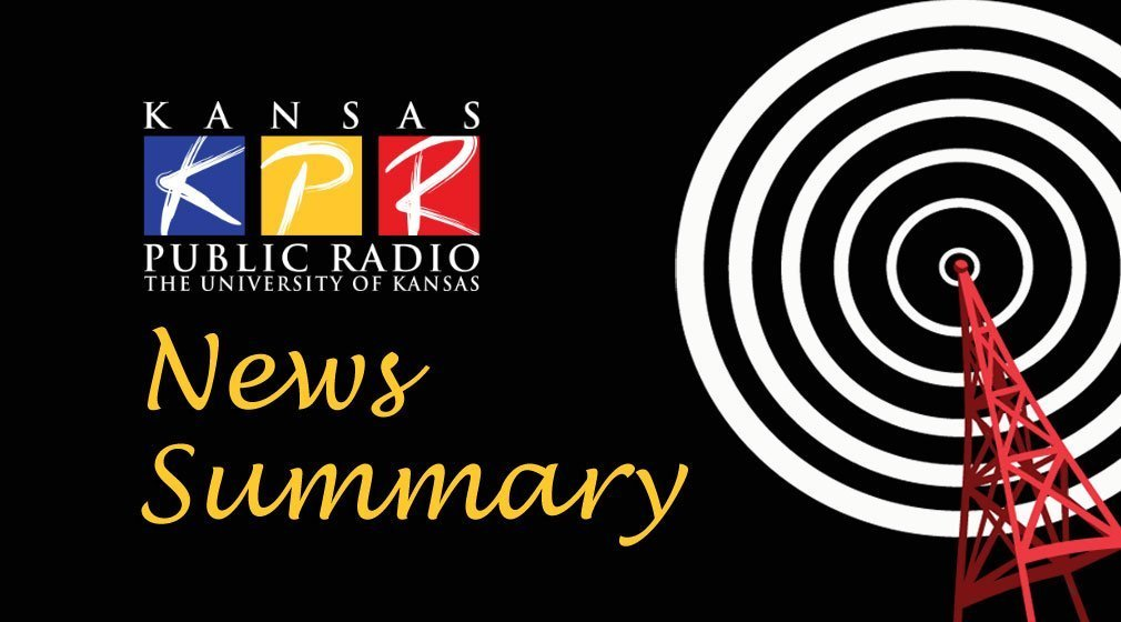 Here's the latest Kansas and regional news from the Associated Press, compiled by KPR staff.