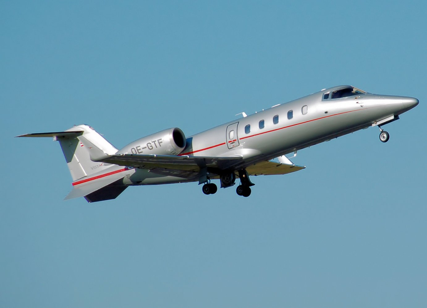The Learjet 60 is a mid-size business jet manufactured by Bombardier Aerospace in Wichita.  (File photo from Wikipedia)