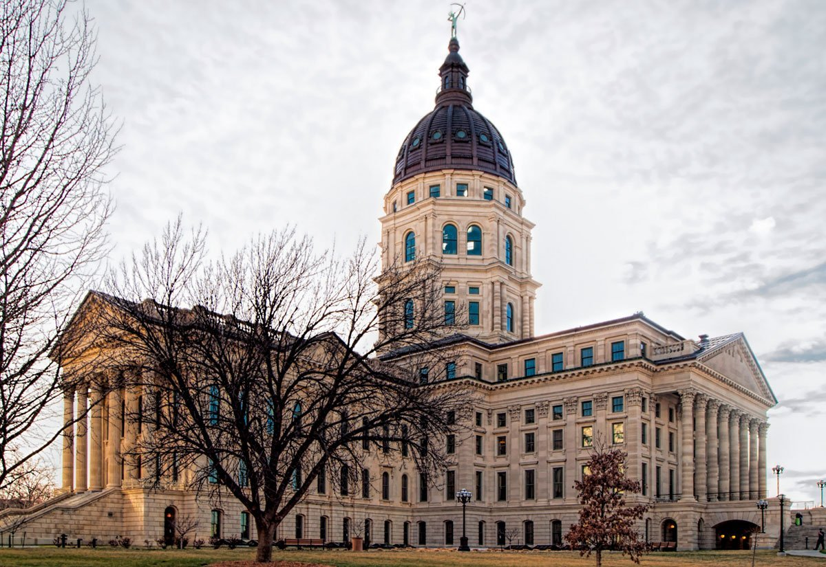 Photo of Kansas Capitol by KPR staff