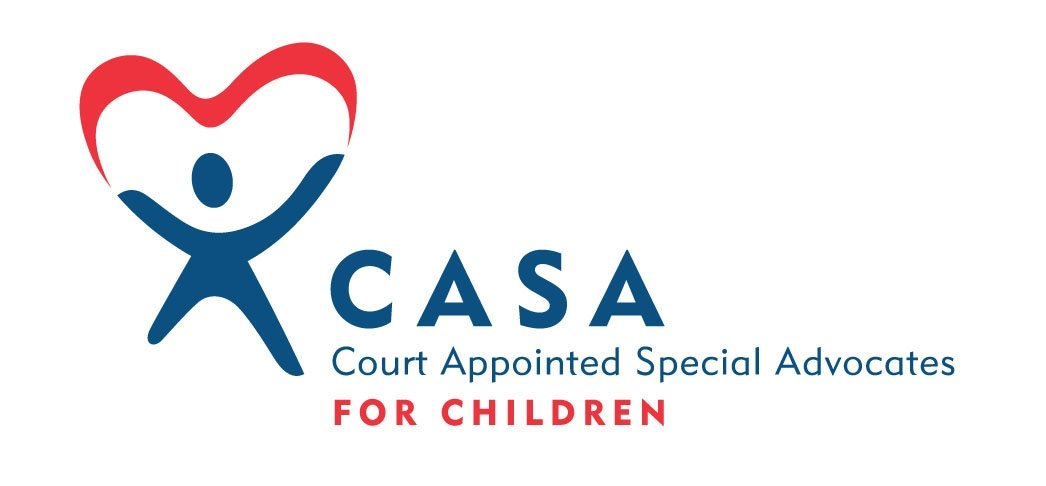 CASA = Court Appointed Special Advocates, trained volunteers who act as a child's voice in court.