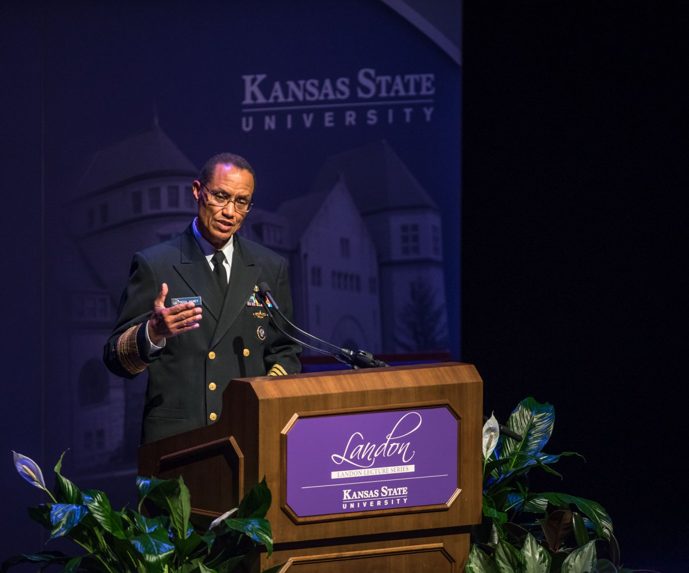 Photo courtesy of Kansas State University Communications and Marketing