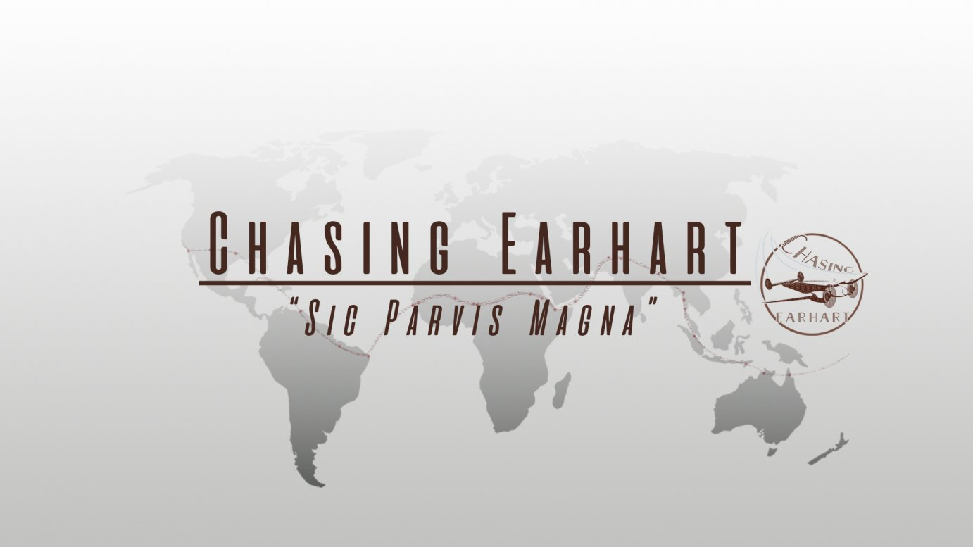 Chasing Earhart logo used with permission