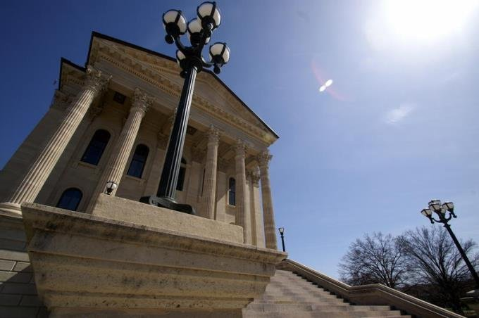 Lawmakers are considering a change to the state constitution, but removing the Kansas Supreme Court's power to enforce education spending requirements could be daunting. (Photo Credit: Scott Canon, Kansas News Service)