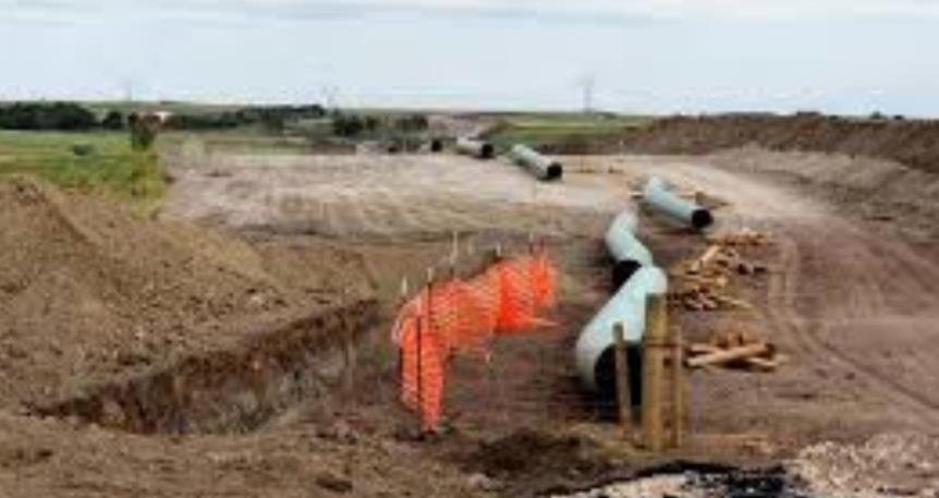 The U.S. Army Corps of Engineers said Sunday that it would deny a permit for the construction of a portion of the Dakota Access Oil Pipeline.