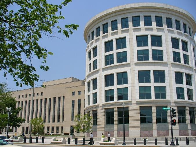 The E. Barrett Prettyman U.S. Courthouse and William B. Bryant Annex is the home of the D.C. Circuit Court. (Photo credit: www.cadc.uscourts.gov)