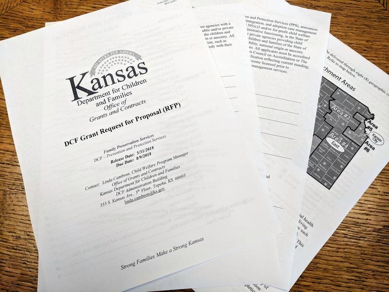 The Department for Children and Families is switching to a grant system for child welfare. Some lawmakers are worried making agencies grantees instead of contractors opens the door to discrimination. (file photo/Kansas News Service)