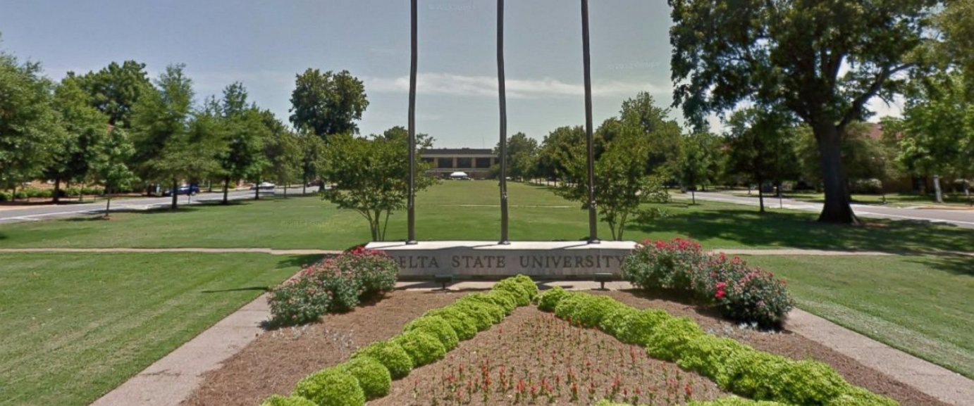 Campus photo of Delta State University in Mississippi (Credit ABC News)