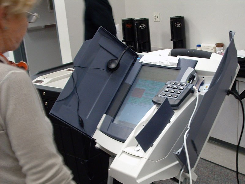 A Diebold Election Systems voting machine (Image credit: commons.wikimedia.org)