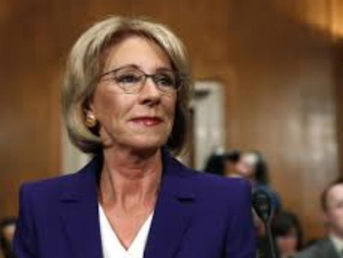 DeVos is scheduled to visit the Kansas City Academy, a private school in Missouri and Johnson County Community College in Overland Park. (Photo: NPR)
