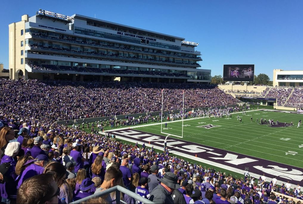Kansas State's football team had several players test positive for COVID-19 this summer. (Photo by Greg Echlin)