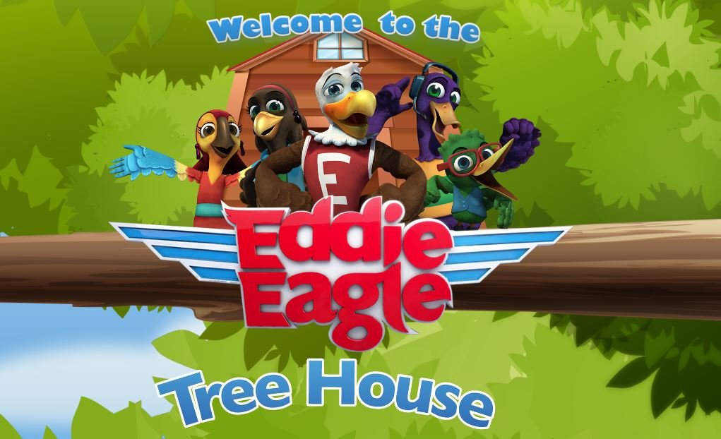 A screenshot from the NRA's Eddie Eagle website.