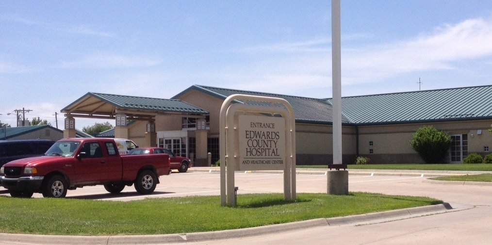 Edwards County Hospital and Healthcare Center (photo by Bryan Thompson)