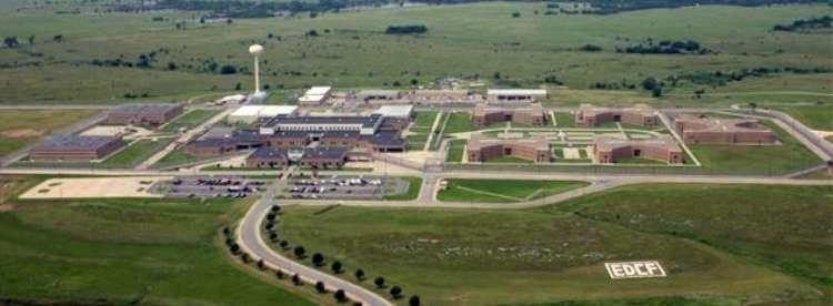 El Dorado state prison (Photo from Kansas Department of Corrections)