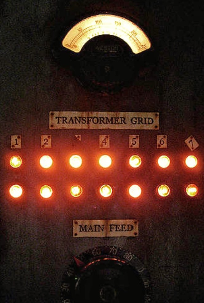 This photograph is solely for illustrative purposes. The actual control panel for the KANV transmitter is classified by the U.S. Department of Homeland Security and is much more complicated.