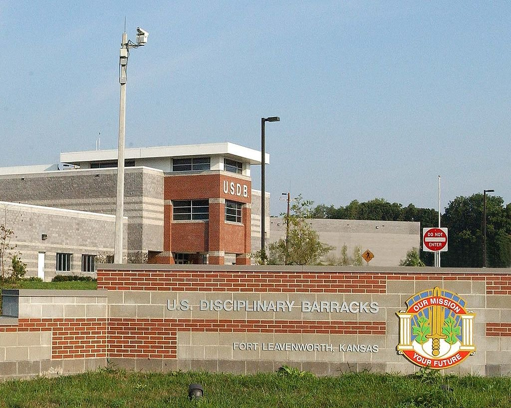 The military prison at Fort Leavenworth (Photo from Wikipedia)