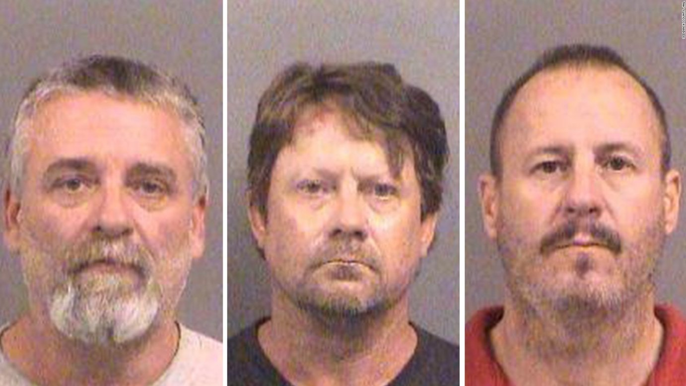Gavin Wright, Curtis Allen and Patrick Stein have been convicted of conspiring to blow up a Garden City apartment complex that housed Somali immigrants. (photo credit: Sedgwick County Sheriff's Office)