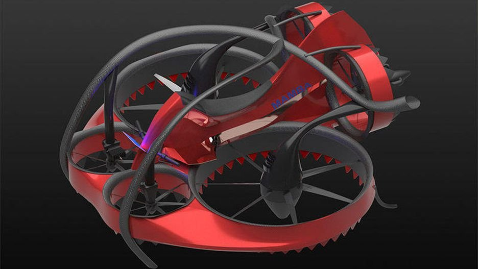 The Mamba was created by KU aerospace engineering students. This design won $20,000 and has a shot at winning the ultimate GoFly Prize of $1 million.