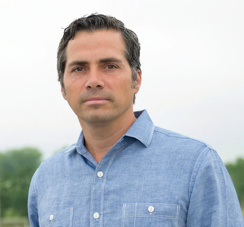 Greg Orman ran as an independent in 2014, challenging Republican U.S. Senator Pat Roberts. (Photo by KCUR Radio)