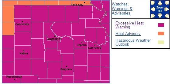 (Map courtesy of National Weather Service Topeka office via www.weather.gov)