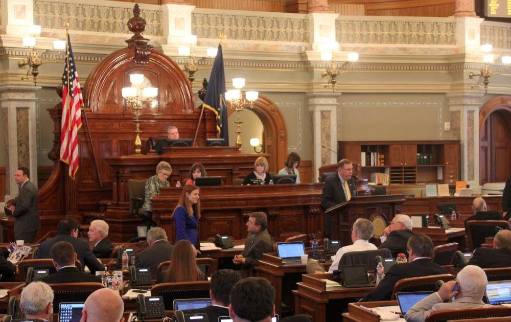 The Kansas House meeting. (Photo by Stephen Koranda)