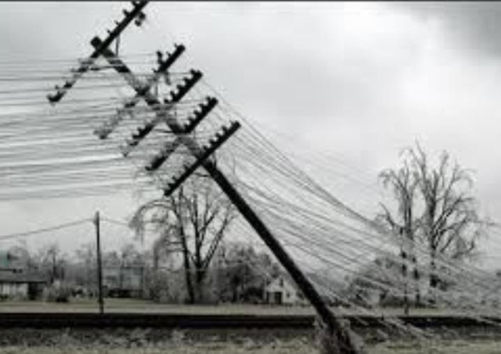 About 3,000 homes were still without power early Tuesday morning