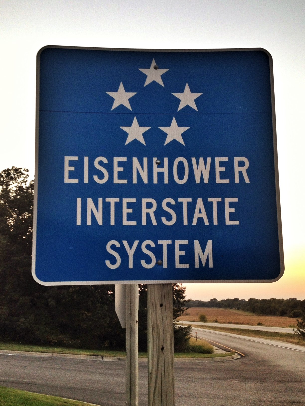 Interstate 35 is part of the Kansas Turnpike and part of the Eisenhower Interstate System.